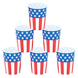Amazon.com | Patriotic Shot Glasses: Shot Glasses