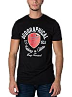 Geographical Norway Camiseta Manga Corta Snht (Negro)