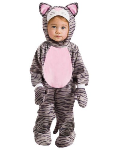 Halloween Costumes Item - Grey Stripe Kitten Baby Costume 6-12 Months