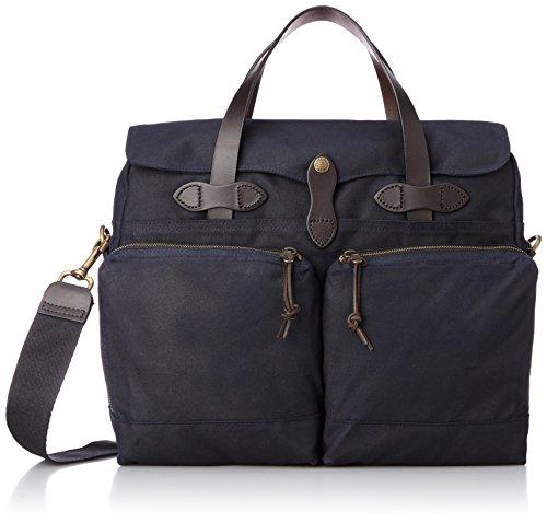 [フィルソン] FILSON ブリーフケース 24-Hour Briefcase-Tin Cloth #70140 Navy (Navy)