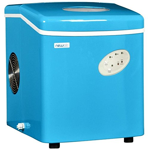 Countertop Ice Maker Canada : ... Ice Makers Blue Countertop Mini Compact Portable Ice Cube Maker