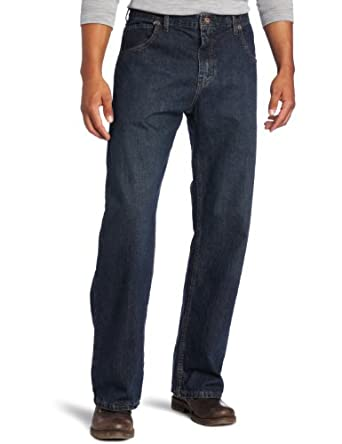 Dickies Men's Loose Straight Fit Five Pocket Jean, Stone Wash, 32X30