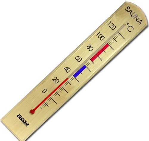 Sauna Thermometer aus Holz