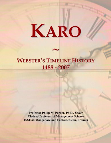 karo-websters-timeline-history-1488-2007