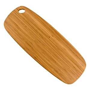 Totally Bamboo GreenLite Utility Bread Board, 7-Inch by 20-Inch