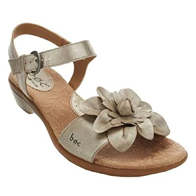 Amazon.com: B.O.C. by Born Concept Karlyn Leather Flower Ankle Strap