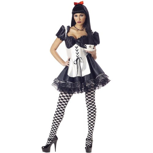 Malice in Wonderland Costume - Small - Dress Size 6-8
