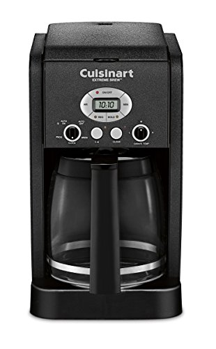 Cuisinart DCC-2650BWFR 12 Cup Extreme Brew Programmable Coffeemaker (Certified Refurbished), Black (Cuisinart Extreme Coffee Maker compare prices)