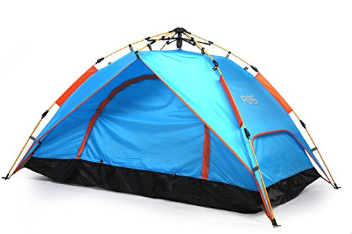 Funs® Instant 1~2 Person 3 Season Hydraumatic Dome Tent Double-Wall Two-Door Kids Camping Tent. Seconds to Set Up and Tear Down