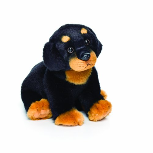 Nat and Jules Rottweiler Plush Toy, Small