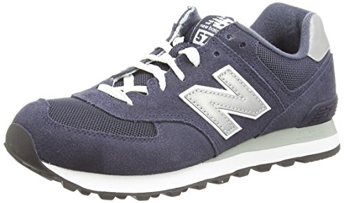 New Balance Sneaker Uomo Running Sport ML565ON, Azul (Navy/Grey), 45.5