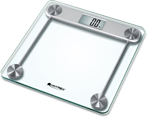 Buy Low Price Kintrex Precision Glass Bath Scale Large Lcd Display Sense On Technology 330 Lb