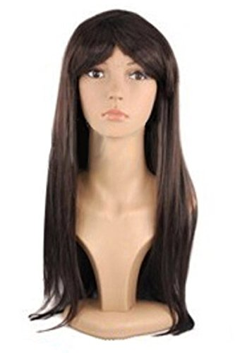 Pink Queen® 60cm=23.5inch Long Straight Full Hair Wig Hair Extensions