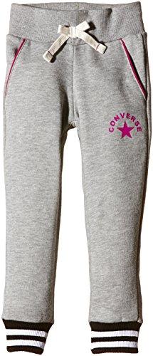 Flying Monkey Press - Knit, Pantaloni sportivi per bambine e ragazze, grigio (grau - vintage grey heather), 3 anni/98