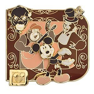 Disney Pins - Classic 'D' Collection - Country Bear Jamboree - Mickey Mouse, Big Al, Buff, Sammy and Henry - Limited Edition Pin 82928