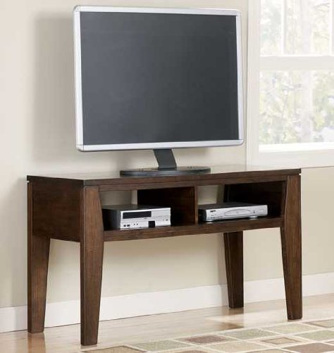 "Cheap DarkBrown TV Stand – Design by ""Famous Brand"" Furniture (T334-10)"