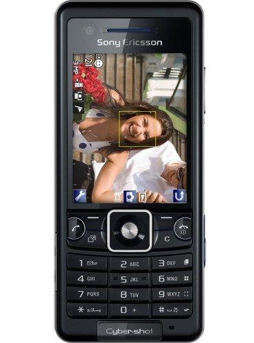 Sony Ericsson C 510 future black (cybershot 3.2 MP) Handy