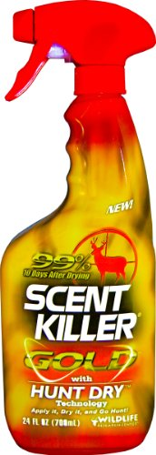 Fantastic Deal! Wildlife Research Scent Killer Gold Clothing and Boot Spray, (24-Ounce)