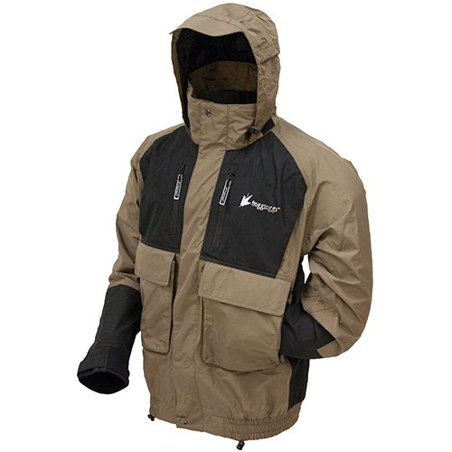 Frogg Toggs NT6201-1052X Firebelly Toadz Jacket 2X-BK/ST