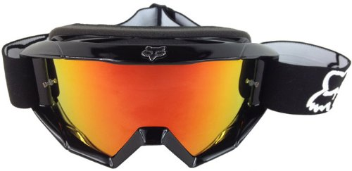 Goggle-Shop Chrome Mirror Lens to fit FOX Main / Pro Motocross MX Goggles (Red Inferno Mirror)