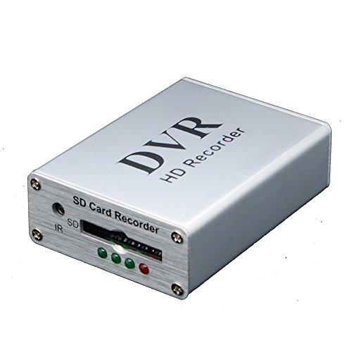Coomatec Mini DVR support carte SD en temps réel enregistreur vidéo numérique pour FPV et le véhicule HD mini 1 canal vidéo MPEG-4