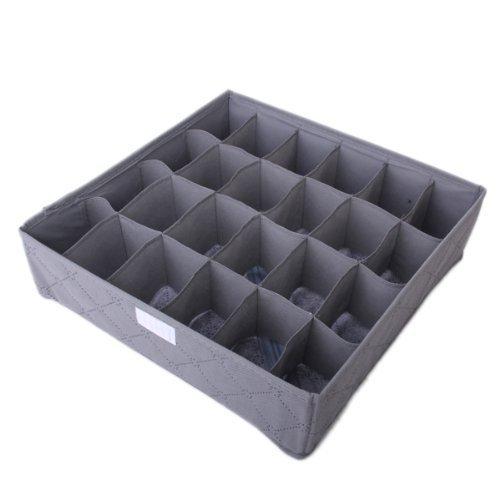 FRE ensemble de 3pcs (6-cellule,7-cellule,24-cellule) sous-vêtements soutien-gorge liens Organisateur de tiroir boîte de rangement Organizer