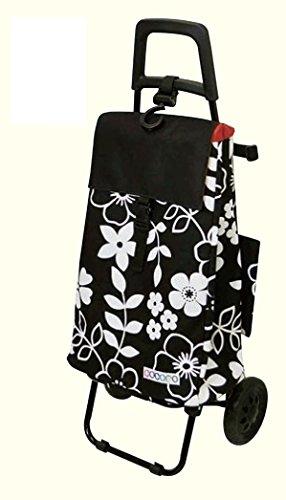 COCORO(コ・コロ) ショッピングカート フラワー BLACK 319918