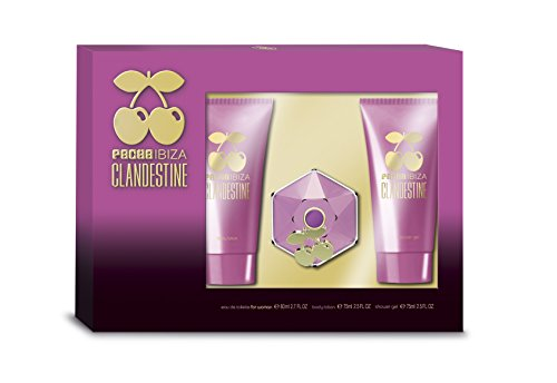 Pacha Clandestine Eau De Toilette Spray 80ml Set 3 Parti
