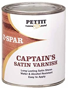 Pettit Captain's Satin Sheen Varnish Quart by Pettit Paint