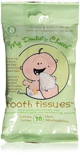 Tooth Tissues Dental Wipes for Toddler/Baby, 90 Count