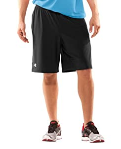 "Under Armour Men's UA 9"" Microshorts II Small Black"
