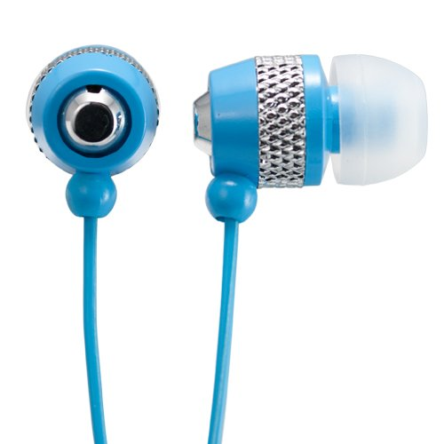 Audiology Au-148-Bu In-Ear Stereo Earphones For Mp3 Players, Ipods And Iphones (Blue)