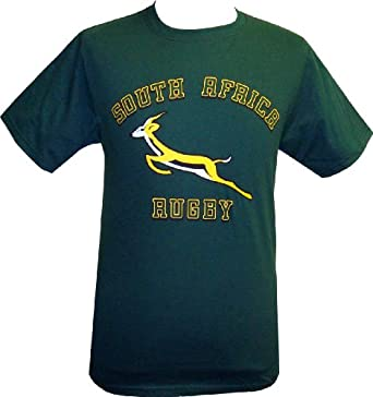 Buy South Africa Rugby T-Shirt by Red Rhino Sports