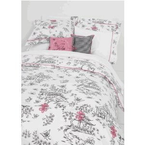 Whistle & Wink China Doll Full/Queen Duvet Cover front-90489