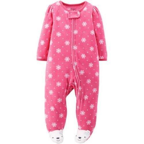 strampler-madchen-gr-62-68-einteiler-fleece-girl-schlafanzug-us-size-3-6-month