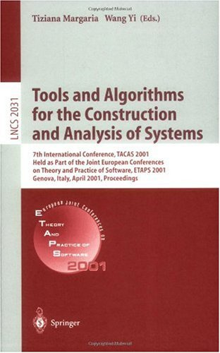 Tools and Algorithms for the Construction and Analysis of Systems, 7 conf., TACAS 2001