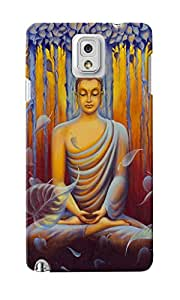 CimaCase Lord Buddha Designer 3D Printed Case Cover For Samsung Galaxy Note 3