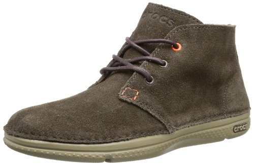 Crocs Men's Thompson Desert Espresso/Khaki Lace Up Boot 14669-22Y-720 12 UK, 46 EU, 12 US