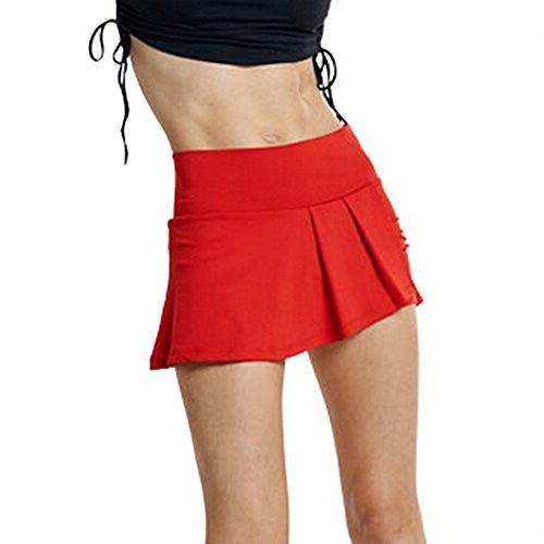 toptie running tennis athletic skirt skort