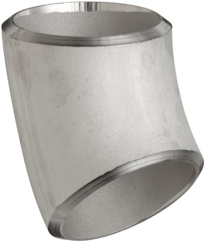 Schedule 40 Pipe Fittings Dimensions: Stainless Steel 316/316L Butt