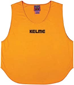 Buy Kelme Soccer Practice Vests (Pinnies)- 227-ORANGE JR-YOUTH by Kelme