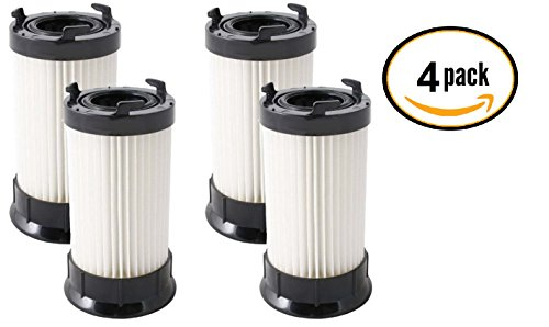 (4 Pack) Eureka DCF-4 and DCF-18 Premium Scented Filters for Eureka 4700, 5500 Series Uprights. (Eureka Power Plus Filter compare prices)