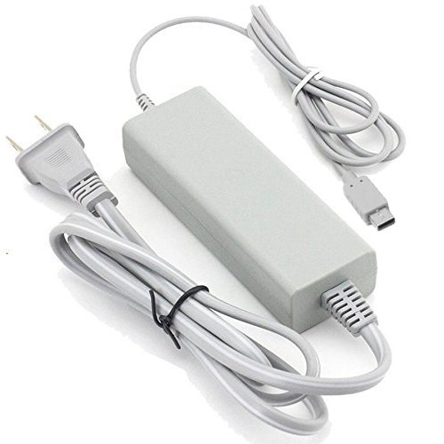 Runflory ac power charging supply adapter charger cord for Wii u tablet charger