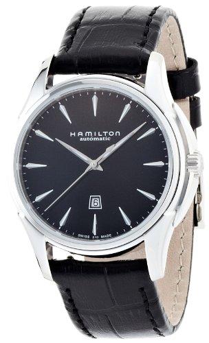 [ハミルトン]HAMILTON Jazzmaster Auto 34mm (ジャズマスター オート 34mm) ブラックダイヤル H32315731 【正規輸入品】