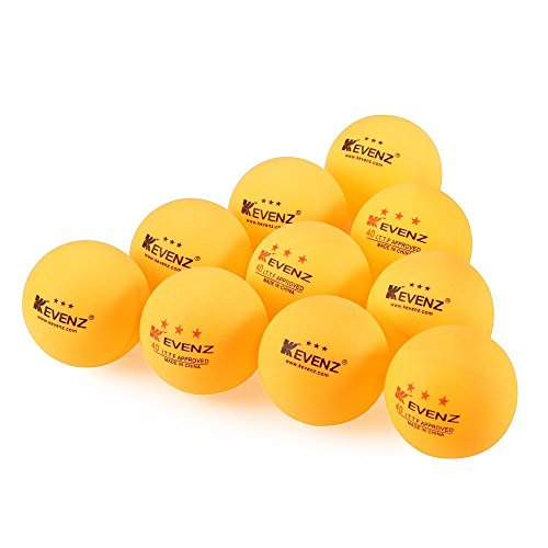 Best Price Kevenz 3-star 40mm Practice Ping Pong Balls -Tournament Play Table Tennis Ball (Orange or...