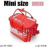 ドレス(DRESS) オリジナルバッカンmini LD-OP-0963 レッド/ホワイト