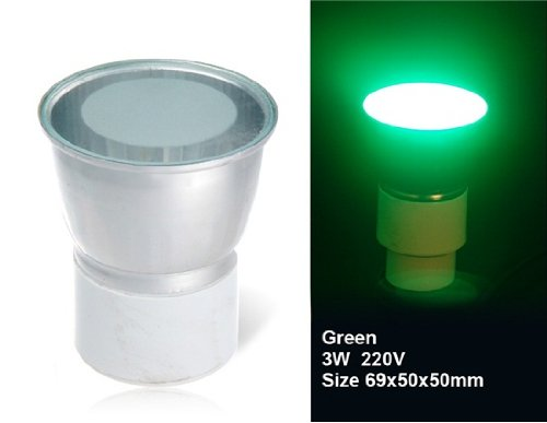 Wrui 3W Gu5.3 18 X 3528 Led Green Led Spotlight