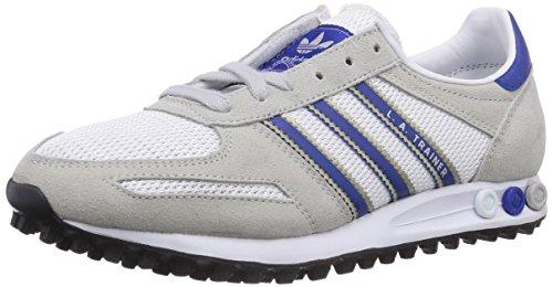 Adidas La Trainer, Scarpe sportive, Uomo, Multicolore (Grigio (Lgh Solid Grey/Collegiate Royal/Ftwr White)), 46