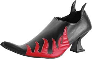 Adult Women's Devil Costume Shoes (Sz:Large 9-10)