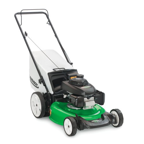 Lawn-Boy 10736 High Wheel Push Gas Walk Behind Lawn Mower, 21-Inch with Honda Engine